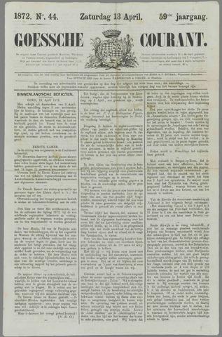Goessche Courant 1872-04-13