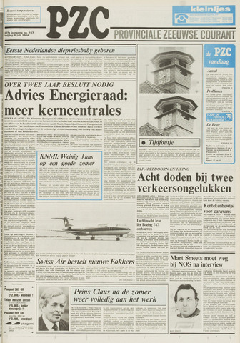 Provinciale Zeeuwse Courant 1984-07-06