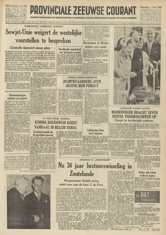Provinciale Zeeuwse Courant 1959-06-01