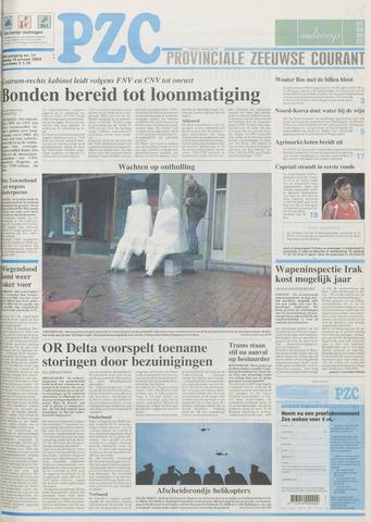 Provinciale Zeeuwse Courant 2003-01-14