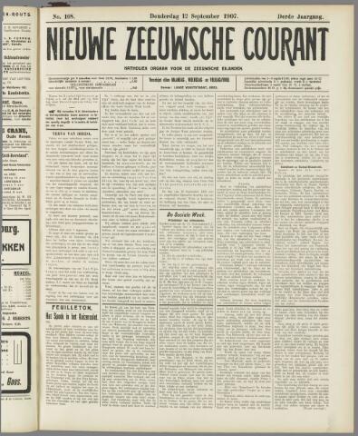 Nieuwe Zeeuwsche Courant 1907-09-12