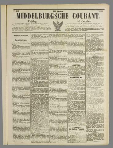 Middelburgsche Courant 1906-10-26