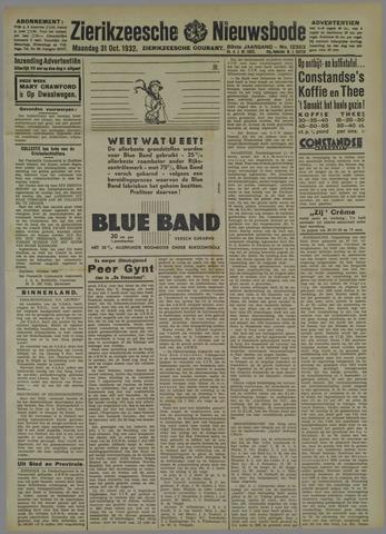 Zierikzeesche Nieuwsbode 1932-10-31
