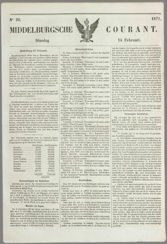 Middelburgsche Courant 1871-02-14