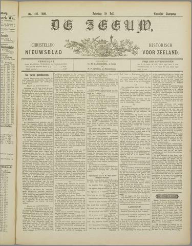 De Zeeuw. Christelijk-historisch nieuwsblad voor Zeeland 1898-07-30