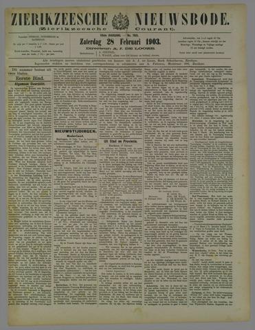Zierikzeesche Nieuwsbode 1903-02-28
