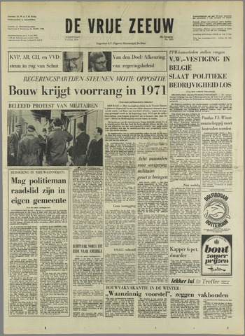 de Vrije Zeeuw 1970-07-02