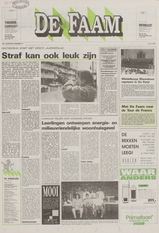 de Faam en de Faam/de Vlissinger 1992-07-01