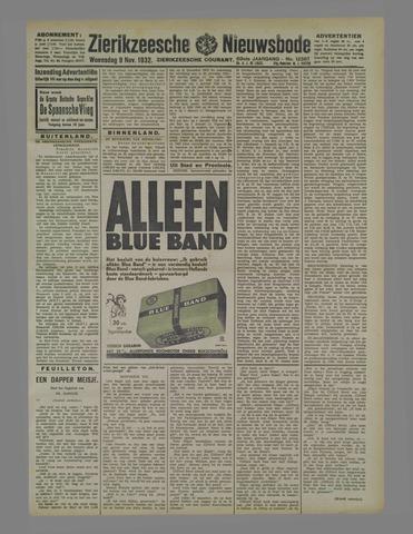 Zierikzeesche Nieuwsbode 1932-11-09