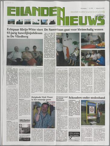 Eilanden-nieuws. Christelijk streekblad op gereformeerde grondslag 2007-07-20