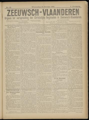 Luctor et Emergo. Antirevolutionair nieuws- en advertentieblad voor Zeeland / Zeeuwsch-Vlaanderen. Orgaan ter verspreiding van de christelijke beginselen in Zeeuwsch-Vlaanderen 1918-10-30