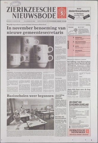 Zierikzeesche Nieuwsbode 1995-08-15