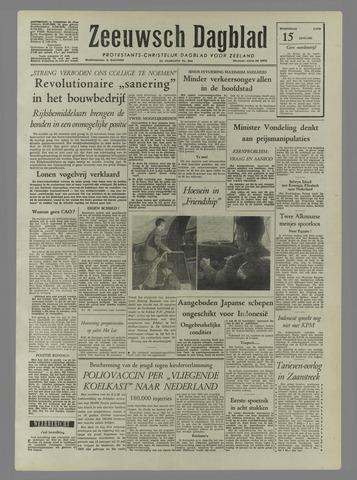 Zeeuwsch Dagblad 1958-01-15