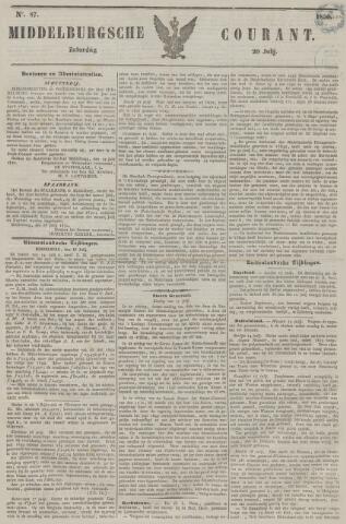 Middelburgsche Courant 1850-07-20