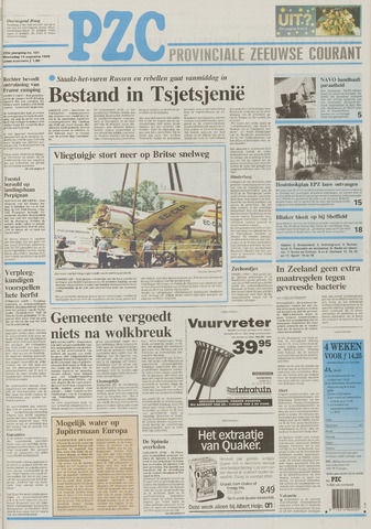 Provinciale Zeeuwse Courant 1996-08-14