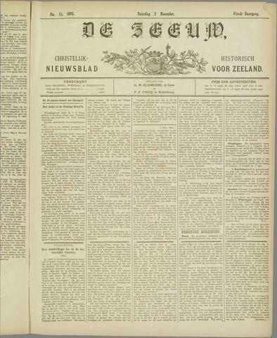 De Zeeuw. Christelijk-historisch nieuwsblad voor Zeeland 1895-11-02