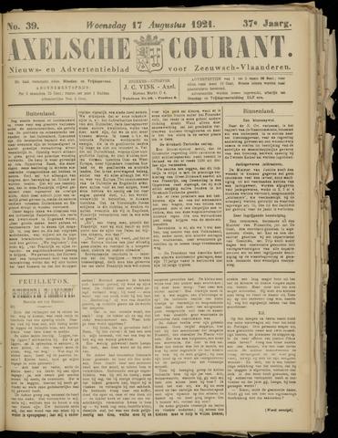 Axelsche Courant 1921-08-17