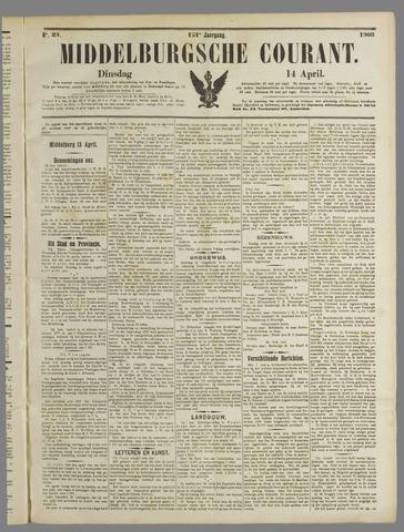 Middelburgsche Courant 1908-04-14