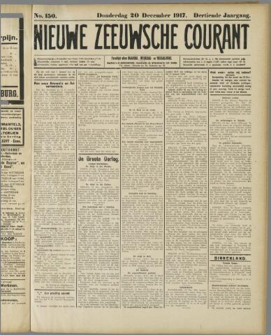 Nieuwe Zeeuwsche Courant 1917-12-20