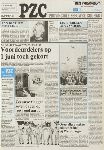 Provinciale Zeeuwse Courant 1985-04-30