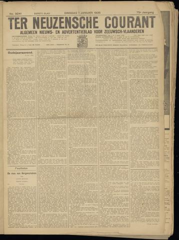 Ter Neuzensche Courant. Algemeen Nieuws- en Advertentieblad voor Zeeuwsch-Vlaanderen / Neuzensche Courant ... (idem) / (Algemeen) nieuws en advertentieblad voor Zeeuwsch-Vlaanderen 1935-01-01