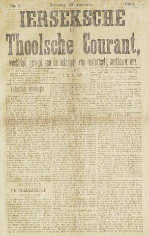 Ierseksche en Thoolsche Courant 1885-08-22