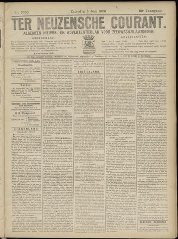 Ter Neuzensche Courant. Algemeen Nieuws- en Advertentieblad voor Zeeuwsch-Vlaanderen / Neuzensche Courant ... (idem) / (Algemeen) nieuws en advertentieblad voor Zeeuwsch-Vlaanderen 1920-06-05