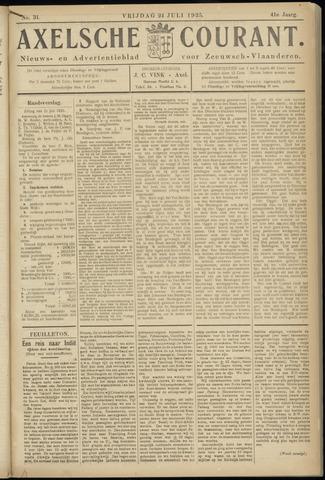 Axelsche Courant 1925-07-24