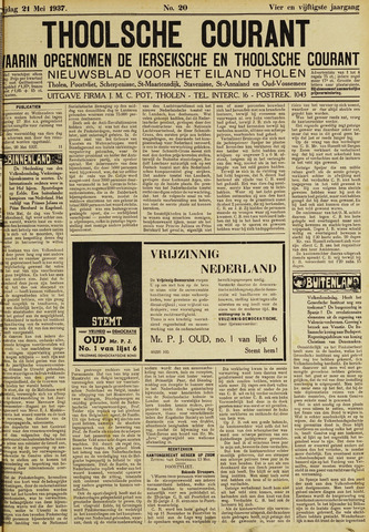 Ierseksche en Thoolsche Courant 1937-05-21
