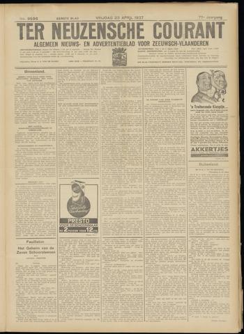 Ter Neuzensche Courant. Algemeen Nieuws- en Advertentieblad voor Zeeuwsch-Vlaanderen / Neuzensche Courant ... (idem) / (Algemeen) nieuws en advertentieblad voor Zeeuwsch-Vlaanderen 1937-04-23