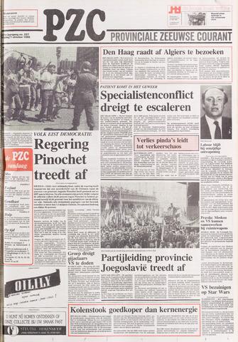 Provinciale Zeeuwse Courant 1988-10-07