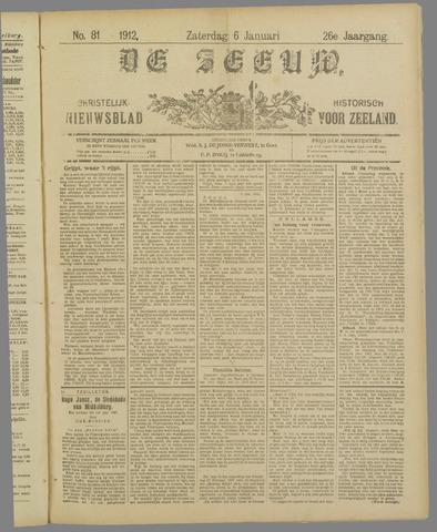 De Zeeuw. Christelijk-historisch nieuwsblad voor Zeeland 1912-01-06