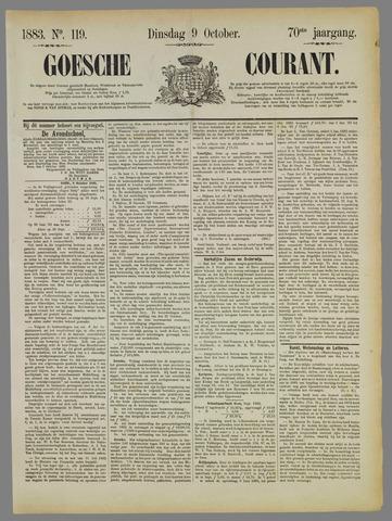 Goessche Courant 1883-10-09