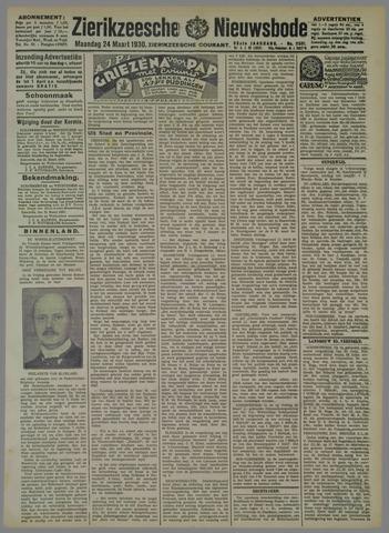 Zierikzeesche Nieuwsbode 1930-03-24