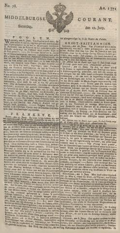 Middelburgsche Courant 1771-06-29