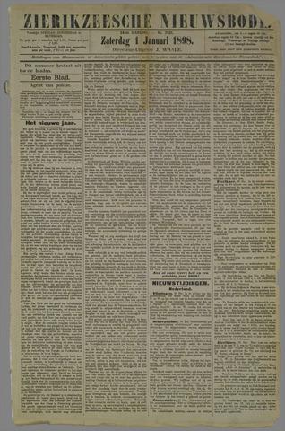 Zierikzeesche Nieuwsbode 1898