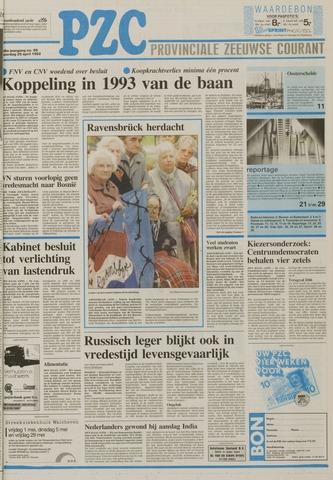 Provinciale Zeeuwse Courant 1992-04-25