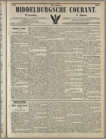 Middelburgsche Courant 1903-03-11