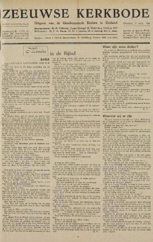 Zeeuwsche kerkbode, weekblad gewijd aan de belangen der gereformeerde kerken/ Zeeuwsch kerkblad 1948-11-12