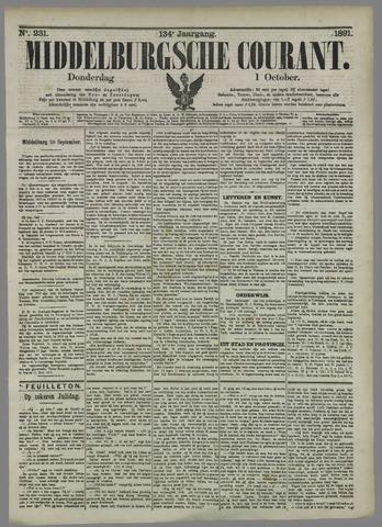 Middelburgsche Courant 1891-10-01