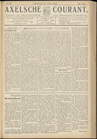 Axelsche Courant 1938-07-29