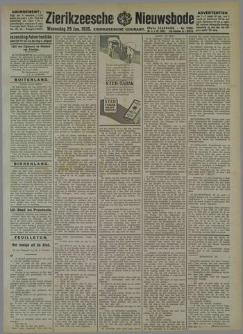 Zierikzeesche Nieuwsbode 1930-01-29