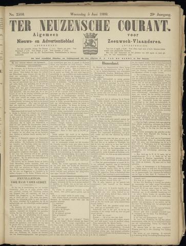 Ter Neuzensche Courant. Algemeen Nieuws- en Advertentieblad voor Zeeuwsch-Vlaanderen / Neuzensche Courant ... (idem) / (Algemeen) nieuws en advertentieblad voor Zeeuwsch-Vlaanderen 1889-06-05