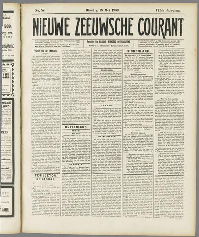 Nieuwe Zeeuwsche Courant 1909-05-18