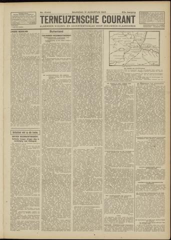 Ter Neuzensche Courant. Algemeen Nieuws- en Advertentieblad voor Zeeuwsch-Vlaanderen / Neuzensche Courant ... (idem) / (Algemeen) nieuws en advertentieblad voor Zeeuwsch-Vlaanderen 1942-08-31