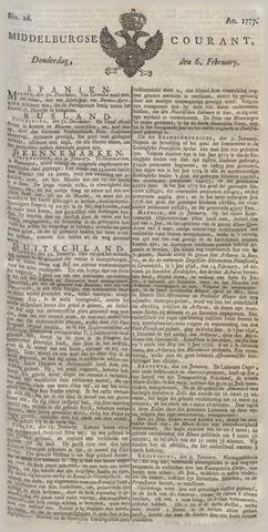 Middelburgsche Courant 1777-02-06