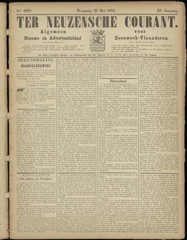 Ter Neuzensche Courant. Algemeen Nieuws- en Advertentieblad voor Zeeuwsch-Vlaanderen / Neuzensche Courant ... (idem) / (Algemeen) nieuws en advertentieblad voor Zeeuwsch-Vlaanderen 1885-05-20