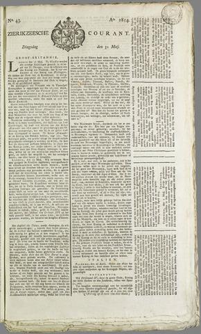 Zierikzeesche Courant 1814-05-31