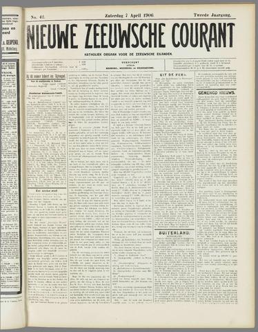 Nieuwe Zeeuwsche Courant 1906-04-07