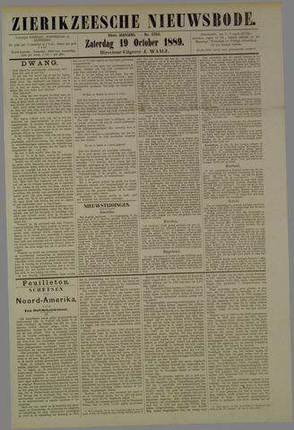 Zierikzeesche Nieuwsbode 1889-10-19